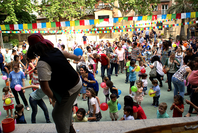 Escola bressol Verdasguer, Festes i diversió