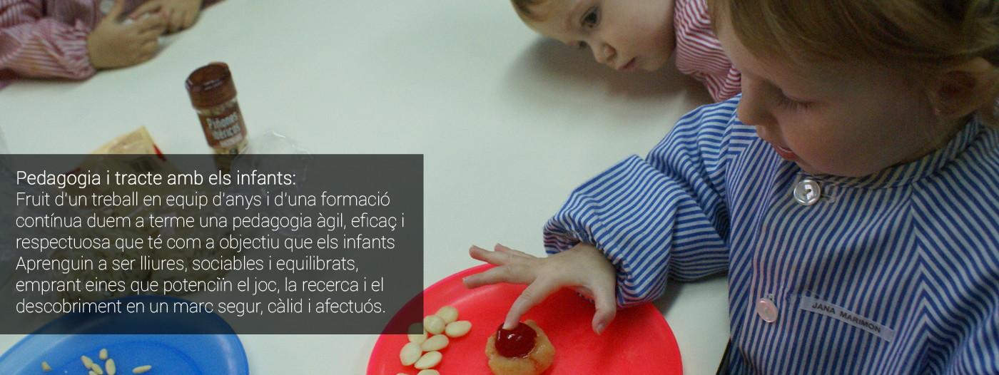 Pedagogia i tracte amb els infants